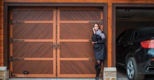 ворота для гаража Дорхан в Санкт-Петербурге